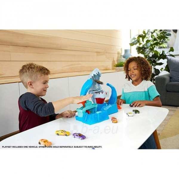 GJL12 Hot Wheels™ Robo Shark Frenzy Play Set MATTEL Paveikslėlis 1 iš 6 310820252908