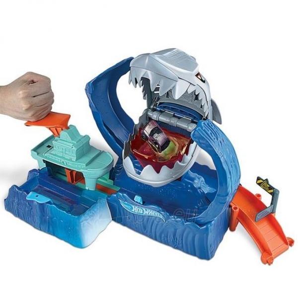 GJL12 Hot Wheels™ Robo Shark Frenzy Play Set MATTEL Paveikslėlis 5 iš 6 310820252908