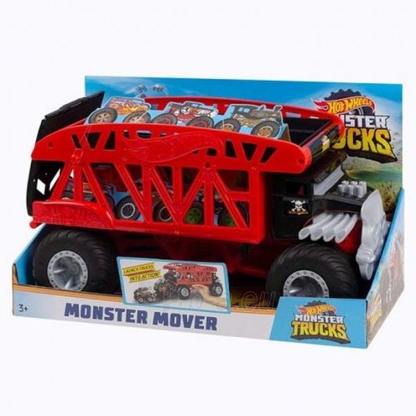GKD37 Hot Wheels Trucks Monster Mover Vehicle MATTEL Монстро-транспортер Paveikslėlis 2 iš 6 310820252907