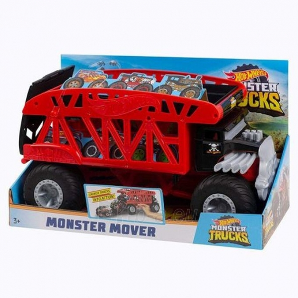 GKD37 Hot Wheels Trucks Monster Mover Vehicle MATTEL Монстро-транспортер Paveikslėlis 6 iš 6 310820252907
