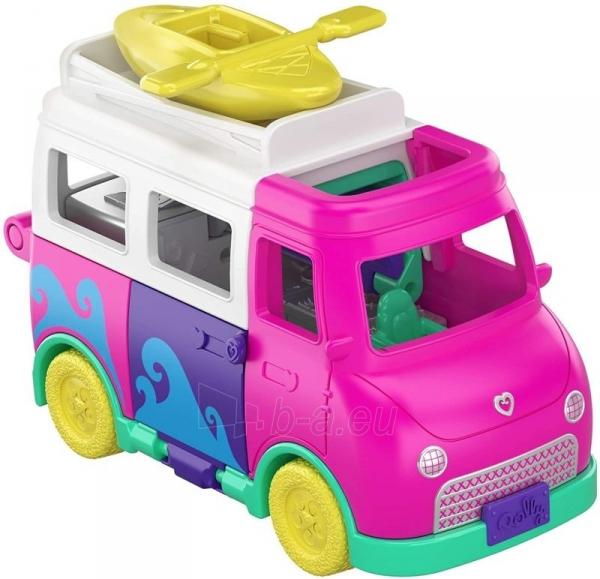 GKL49 Mattel Polly Pocket Pollyville Camper Van Vehicle Paveikslėlis 4 iš 4 310820230613