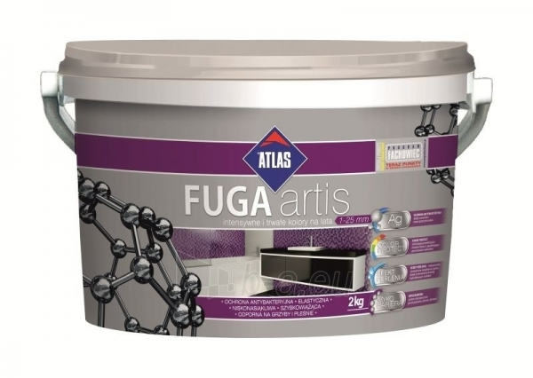 ATLAS ARTIS GROUT - highly flexible fine aggregate grout 035 grey 2 kg bucket Paveikslėlis 1 iš 2 236790000523