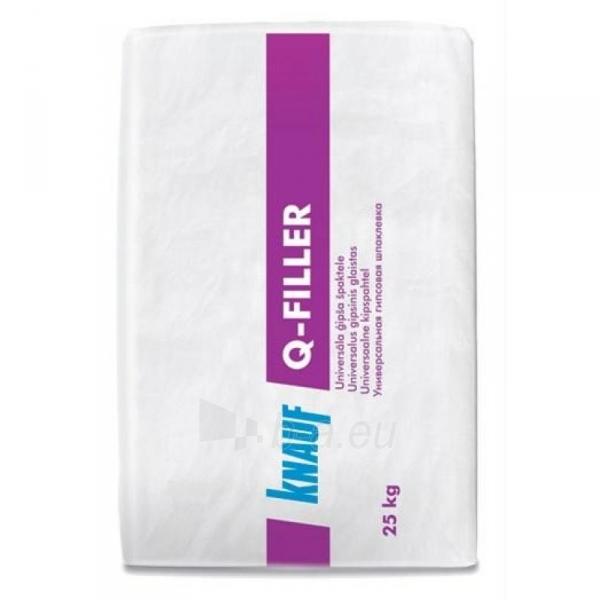 Grout Knauf Q-Filler 25 kg Paveikslėlis 1 iš 1 310820012184