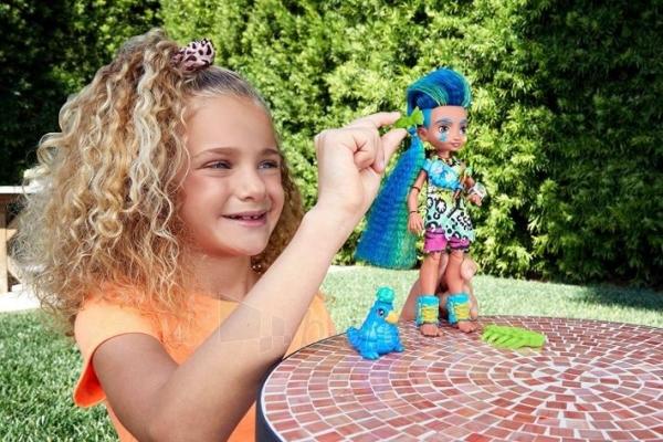 GNL87 / GNL82 Cave Club Slate Doll MATTEL Пещерный клуб Слейт и питомец Paveikslėlis 3 iš 6 310820252876