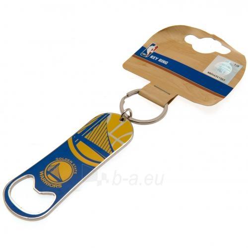 Golden State Warriors butelio atidarytuvas - raktų pakabukas Paveikslėlis 3 iš 4 310820141663
