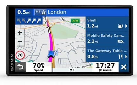 GPS navigacija Garmin DriveSmart 55 MT-D Europe Paveikslėlis 1 iš 2 310820168818