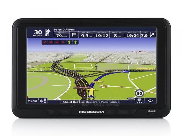 GPS navigacija GPS navigacija Modecom FreeWAY SX2 + AutoMapa Europa Paveikslėlis 4 iš 7 310820011128