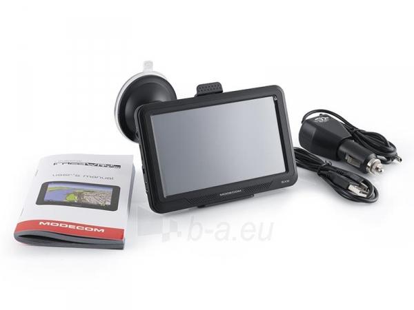 GPS navigacija GPS navigacija Modecom FreeWAY SX2 + AutoMapa Europa Paveikslėlis 7 iš 7 310820011128