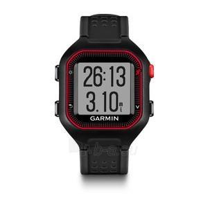 GPS navigacinė technika Garmin Forerunner 25 (Black-Red) Paveikslėlis 1 iš 2 310820036066