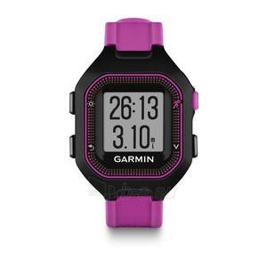GPS navigacinė technika Garmin Forerunner 25 (Black-Violet) Paveikslėlis 1 iš 1 310820036067