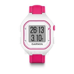 GPS navigacinė technika Garmin Forerunner 25 (White-Pink) Paveikslėlis 1 iš 1 310820036065