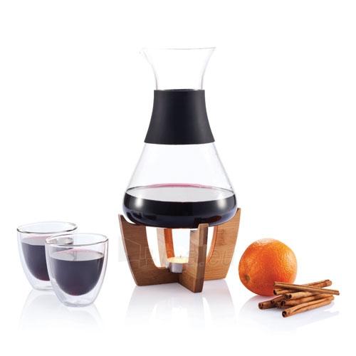 Grafinas karštam vynui su dviem stiklinėmis Paveikslėlis 2 iš 5 30095500015