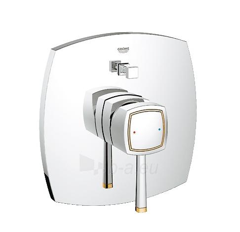 Grandera OHM trimset bath chrome/gold Paveikslėlis 1 iš 2 270722000573