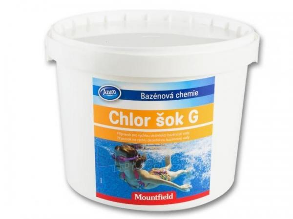 Granulės chloro terapijai CHLOR SHOCK G, 3kg Paveikslėlis 1 iš 1 30092500012