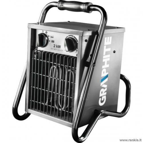 GRAPHITE 58G200 elektrinis šildytuvas Paveikslėlis 1 iš 1 310820054693