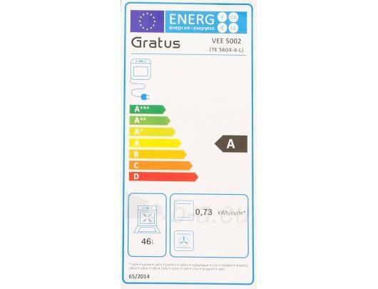GRATUS VEE5002 Elektrinė viryklė Paveikslėlis 2 iš 8 310820012644