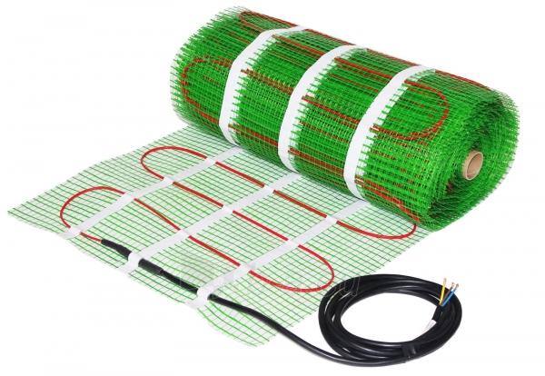 Grindinio šildymo tinklelis WELLMO MAT 10m2 Paveikslėlis 1 iš 1 310820059064