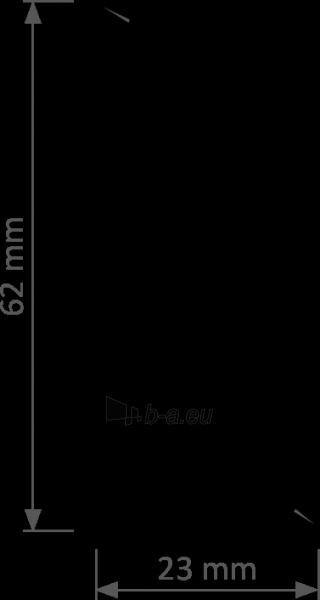 Grindjuostė PVC LP-60 Degintas ąžuolas (209) Paveikslėlis 8 iš 8 237721100438