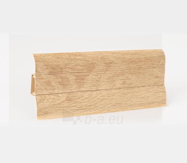 Grīdlīstes PVC LP-60 Par klosteris ozols (206) Paveikslėlis 2 iš 2 237721100447