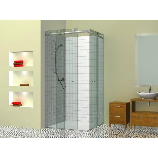 Griubner dušo kabina 80x80 su stumdomomis durimis Paveikslėlis 1 iš 2 270730000720