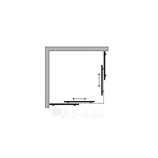 Griubner shower 90x90 with sliding doors Paveikslėlis 2 iš 2 270730000733