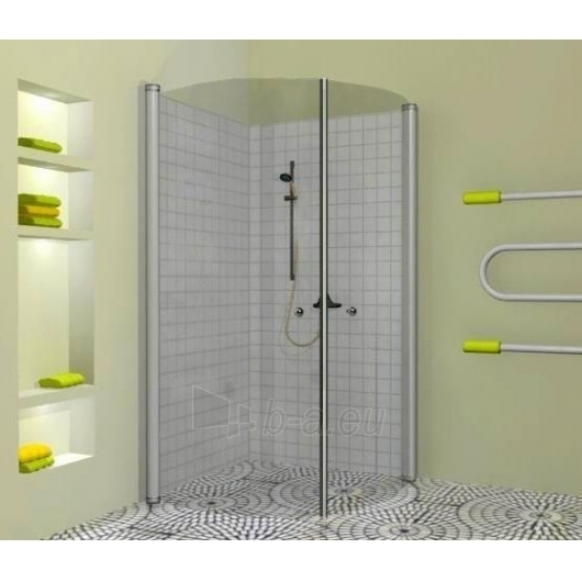 Griubner pusapvalė shower 100x100 Paveikslėlis 2 iš 2 270730000724