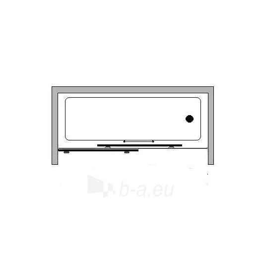Griubner stumdoma vonios sienelė RS-V1 180 Paveikslėlis 3 iš 3 270717000991