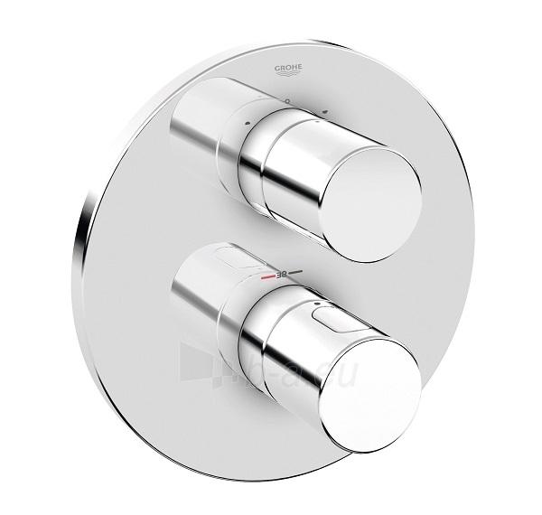 Grohtherm 3000 Cosmo apvali įmontuojama vonios termostato dekoratyvinė dalis, chromas Paveikslėlis 1 iš 1 270750000329