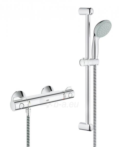 Grohtherm 800 termostatinis maišytuvas dušui su dušo komplektu New Tempesta, 600 mm Paveikslėlis 2 iš 2 310820163800