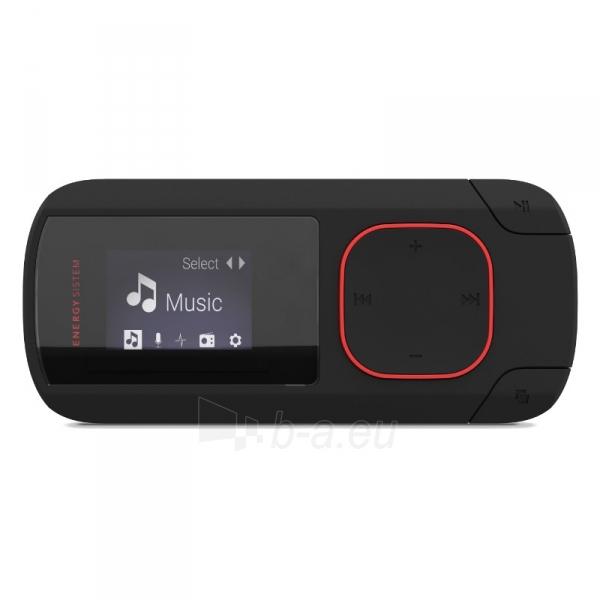Grotuvas 8GB Clip Bluetooth FM microSD Coral Paveikslėlis 4 iš 5 310820080475
