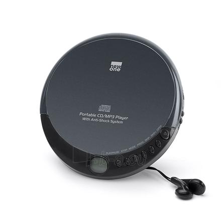 Grotuvas New one D 900 Baladeur CD, CD-MP3, Portable, Black Paveikslėlis 1 iš 1 310820215692
