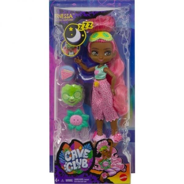 GTH03 / GTH00 Mattel Doll Cave Club Pajamas Party. Fernessa Paveikslėlis 4 iš 4 310820252916