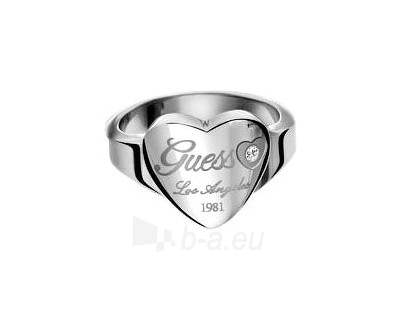 Guess žiedas su širdimi USR11110 (Dydis: 52 mm) Paveikslėlis 1 iš 1 310820023406