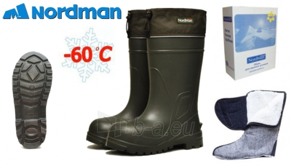 Guminiai batai NordMan Extreme (-60С) PE-16 UMM Dydis 46-47 Paveikslėlis 1 iš 1 310820230540