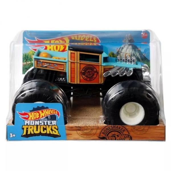 GWL05 / FYJ83 Mattel Hot Wheels Monster Trucks Bone Shaker Paveikslėlis 2 iš 6 310820252904