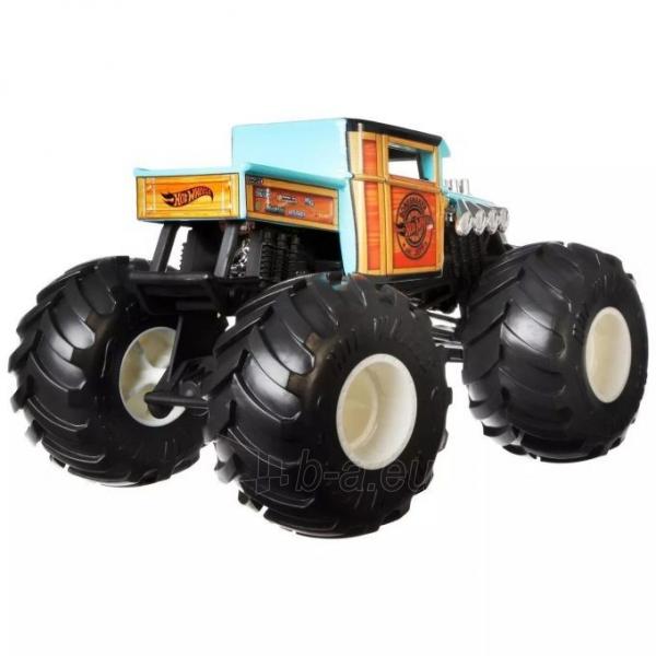 GWL05 / FYJ83 Mattel Hot Wheels Monster Trucks Bone Shaker Paveikslėlis 3 iš 6 310820252904