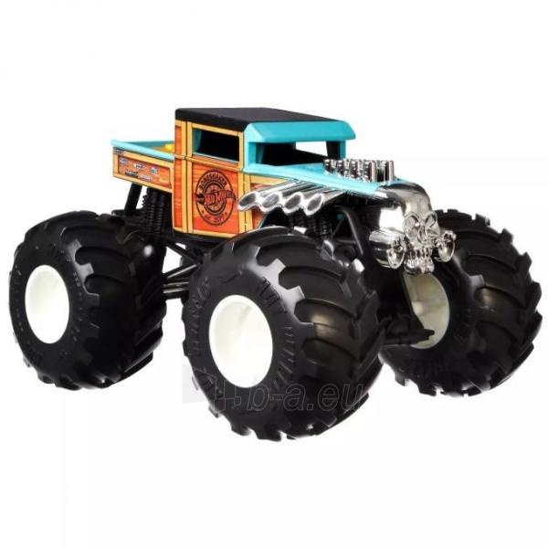 GWL05 / FYJ83 Mattel Hot Wheels Monster Trucks Bone Shaker Paveikslėlis 4 iš 6 310820252904