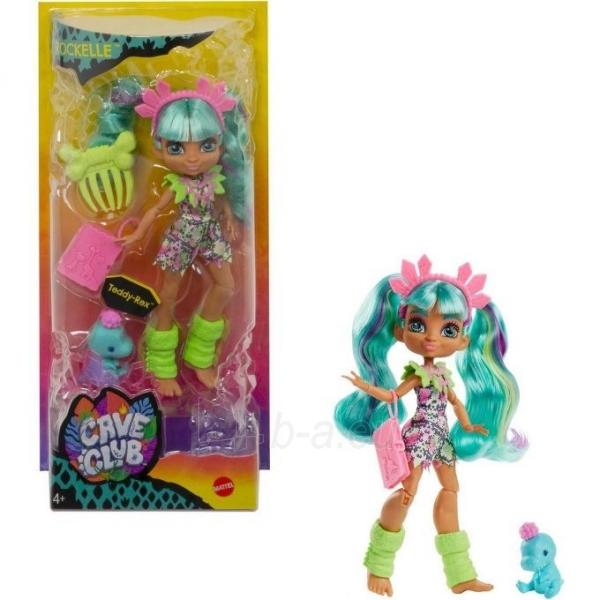 GWT25 / GNL82 Mattel Cave Club Doll Rockelle Paveikslėlis 5 iš 6 310820252919