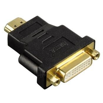 HAMA Compact Adapter HDMI plug-DVI-D soc Paveikslėlis 1 iš 1 250256600251