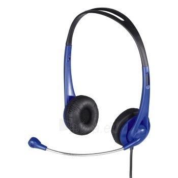 HAMA HS 260 PC Headset blue Paveikslėlis 1 iš 1 250212002703