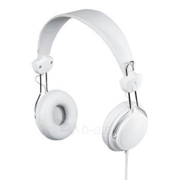 HAMA Joy Stereo Headphones white Paveikslėlis 1 iš 1 250255090345