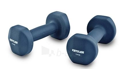 Hanteliai Kettler 2x5kg Paveikslėlis 1 iš 1 310820027598
