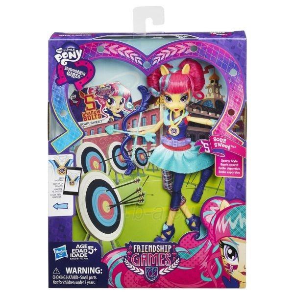 Hasbro My Little Pony кукла Sour Sweet Friendship Games B2025 / B1772 Paveikslėlis 1 iš 1 250710901547