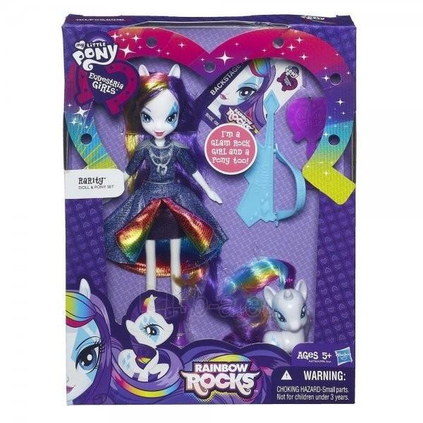 Hasbro My Little Pony Rarity Rainbow Rocks A6776 / A3996 Paveikslėlis 1 iš 2 250710901536