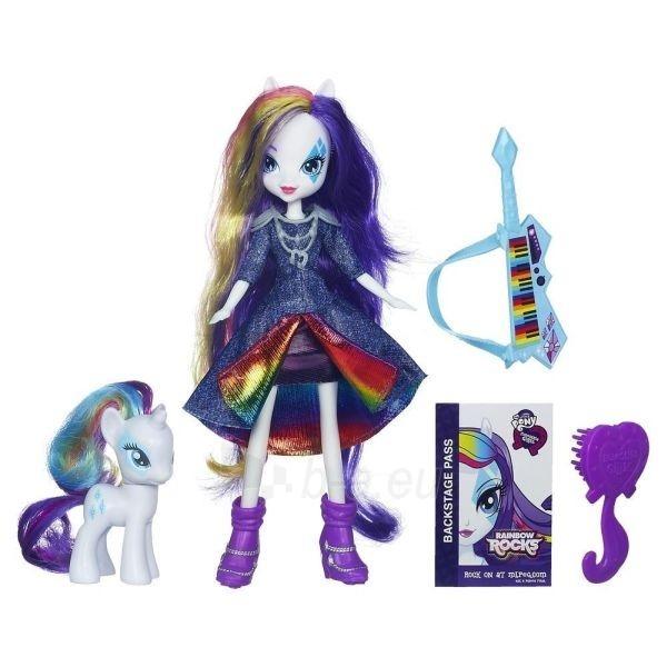 Hasbro My Little Pony Rarity Rainbow Rocks A6776 / A3996 Paveikslėlis 2 iš 2 250710901536