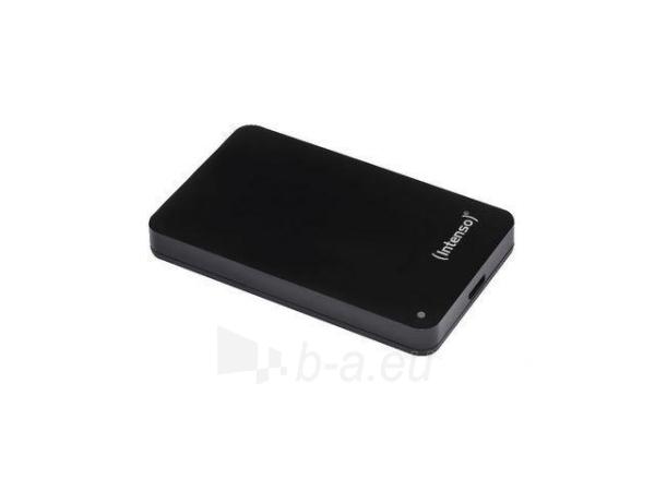 HDD Intenso MemoryCase 2,5'' 2TB, USB 3.0, Juodas Paveikslėlis 1 iš 1 250255521260