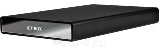 HDD korpusas Icy Box 2,5 SATA su 1xUSB2.0  1xeSATA Juodas Paveikslėlis 1 iš 1 250255600334