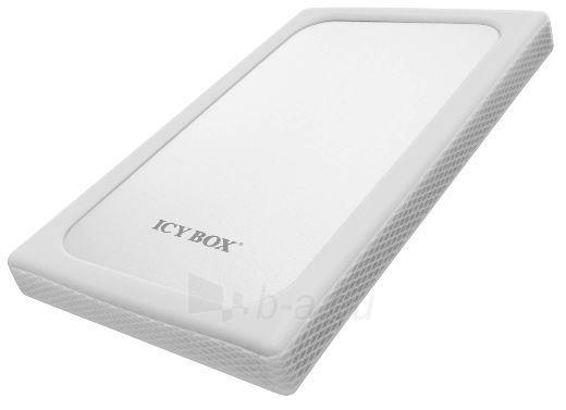 Icy Box External 2,5 HDD case SATA to 1xUSB 3.0, white Paveikslėlis 2 iš 3 250255600361