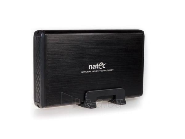 HDD korpusas Natec RHINO USB2.0, 3.5 SATA/IDE, Juodas aliuminis Paveikslėlis 2 iš 6 250255521717