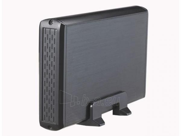 HDD korpusas Natec RHINO USB2.0, 3.5 SATA/IDE, Juodas aliuminis Paveikslėlis 4 iš 6 250255521717
